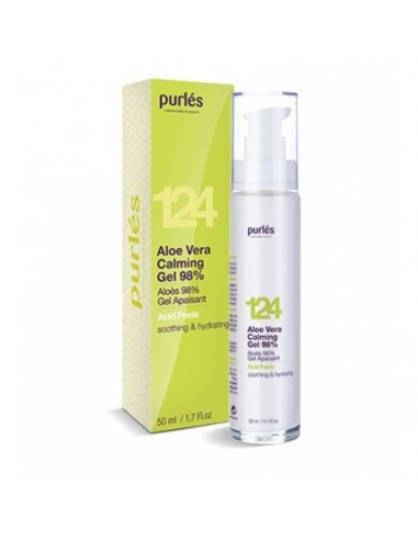 Purles 124 Aloe Vera Calming Gel 98%...
