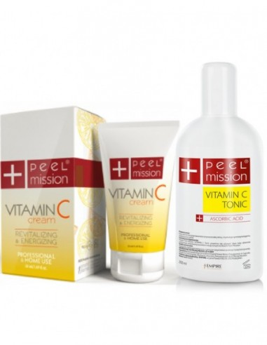 Peel Mission Zestaw Vitamin C Cream i...