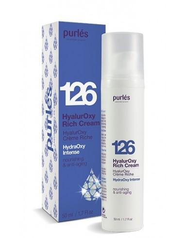 Purles 126 HyalurOxy Rich Cream 50ml