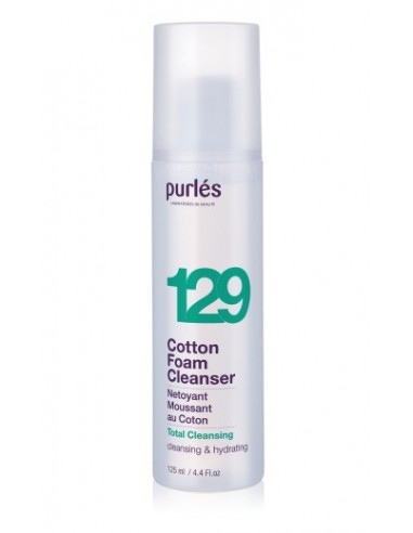 Purles 129 Cotton Foam Cleanser 125ml